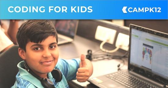 Camp K12 - Online Coding Courses for Kids - AI, App Dev & more